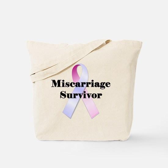 Miscarriage survivor Tote Bag