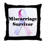 Miscarriage survivor Throw Pillow