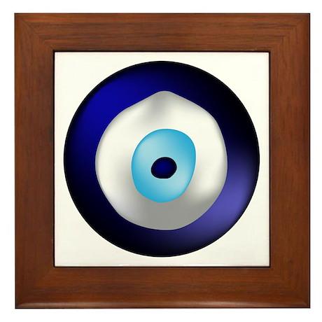 Evil Eye Protection Framed Tile