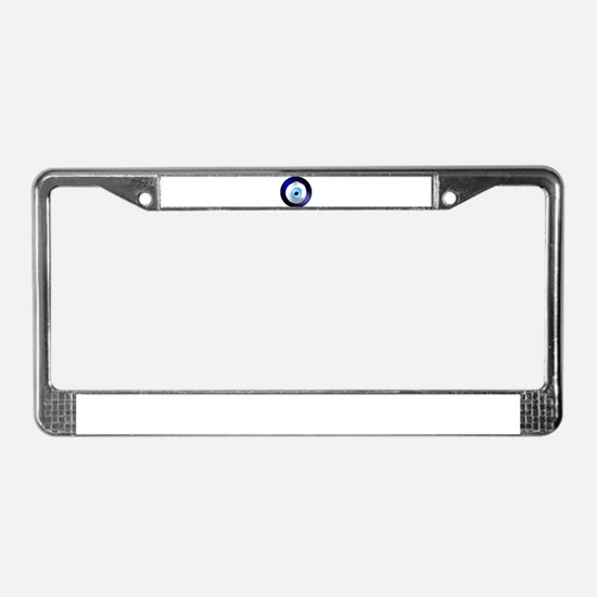 Evil Eye Protection License Plate Frame