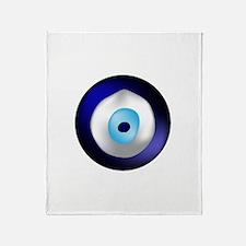 Evil Eye Protection Throw Blanket