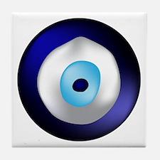 Evil Eye Protection Tile Coaster