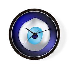 Evil Eye Protection Wall Clock