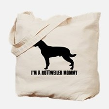 i'm a rottweiler mommy Tote Bag