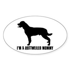 i'm a rottweiler mommy Decal