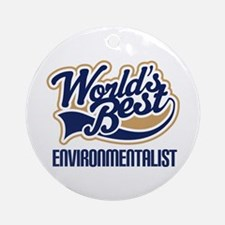 Environmentalist Ornament (Round)