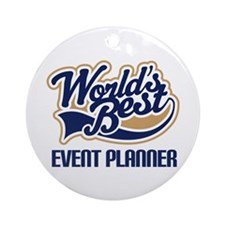 Event Planner Ornament (Round)