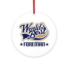 Foreman Ornament (Round)