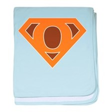 Super Grunge O baby blanket