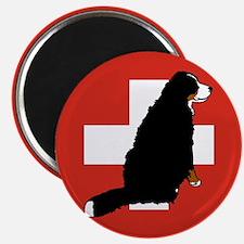 Sitting Bernese Mountain Dog Magnet