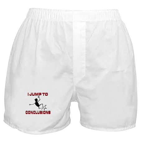 I'M JUMPING Boxer Shorts