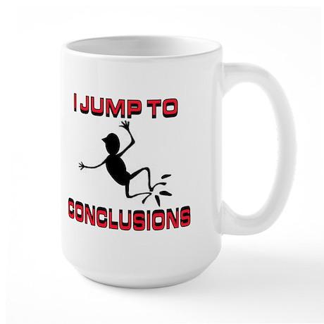 I'M JUMPING Large Mug
