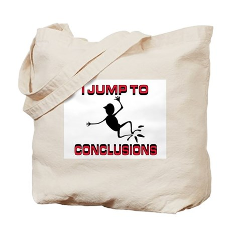 I'M JUMPING Tote Bag