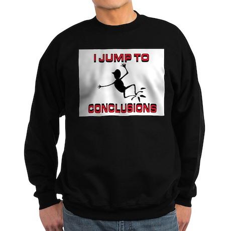 I'M JUMPING Sweatshirt (dark)