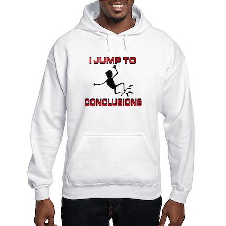 I'M JUMPING Hooded Sweatshirt