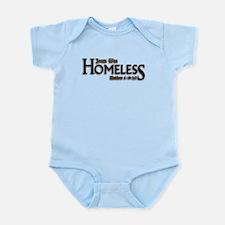 Jesus Was Homeless Onesie