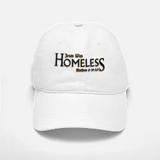 Jesus Was Homeless Baseball Baseball Cap