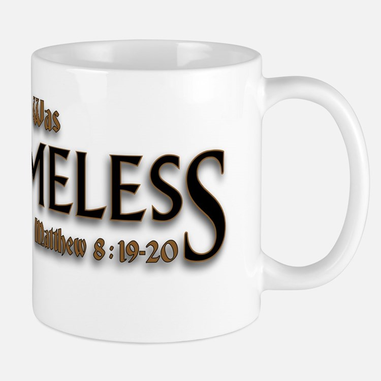 Jesus Was Homeless Mug