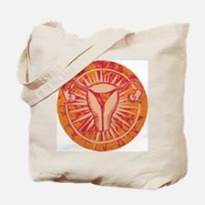 Power Uterus Tote Bag