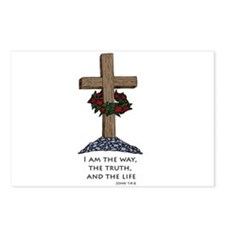 I am the way and the truth an Postcards (Package o