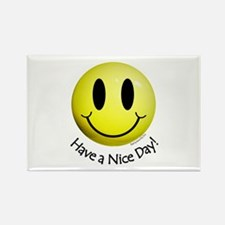Nice Day Smiley Rectangle Magnet (10 pack)