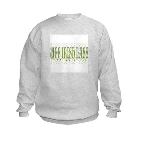 Wee Irish Lass Kids Sweatshirt