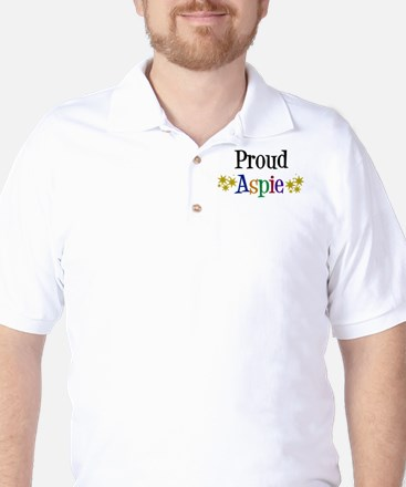 Proud Aspie Golf Shirt