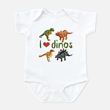 I Love Dinos Infant Bodysuit