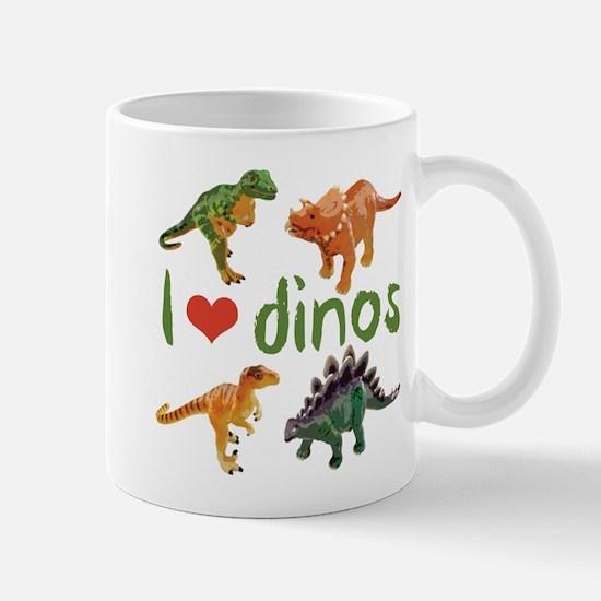 I Love Dinos Mug