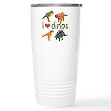 I Love Dinos Travel Mug