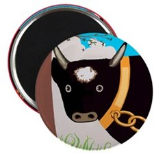 Cute Happy cow Magnet