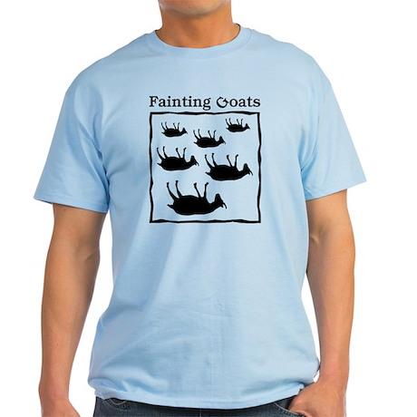 Fainting Goats Light T-Shirt