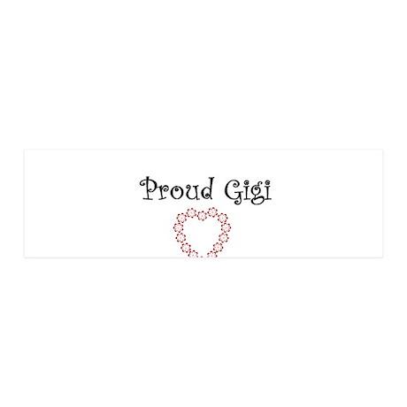 proud gigi 42x14 Wall Peel