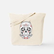 Tattoo Skull Tote Bag