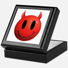 Devil Smiley Keepsake Box