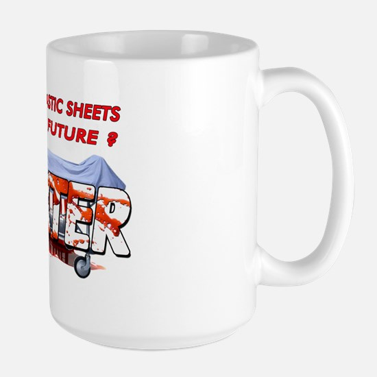 Dexter ShowTime Do I see plas Large Mug