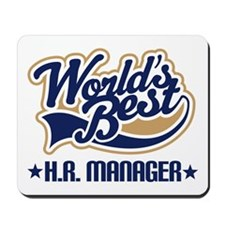 HR Human Resource Manager Mousepad