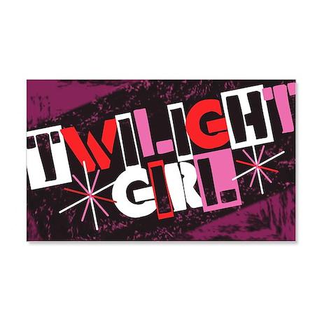 Twilight Girl 22x14 Wall Peel