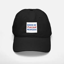 Greek Italian Princess Baseball Hat