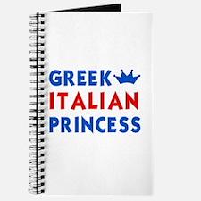 Greek Italian Princess Journal