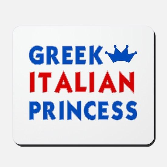 Greek Italian Princess Mousepad