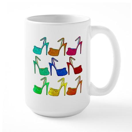 Heels Large Mug