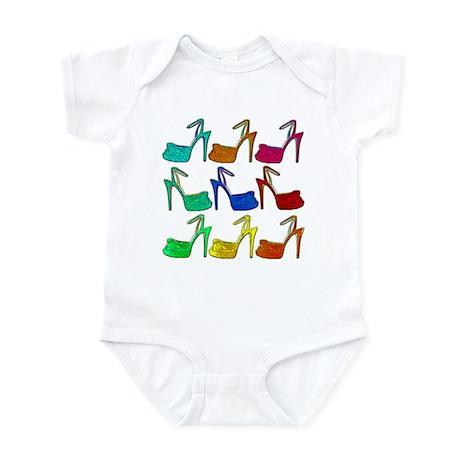 Heels Infant Bodysuit