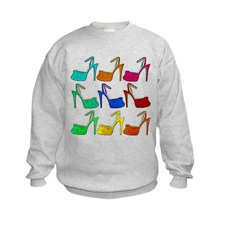 Heels Kids Sweatshirt