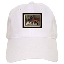 Antique King Charles Spaniels Baseball Cap