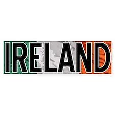 Ireland Car Bumper Bumper Sticker