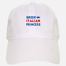 Greek Italian Princess Baseball Baseball Cap