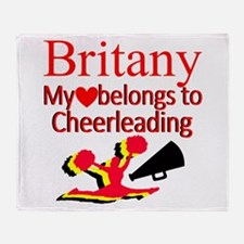 CHEER GIRL Throw Blanket