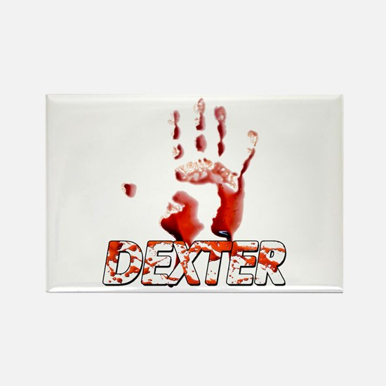 Dexter ShowTime Bloody Hand Rectangle Magnet