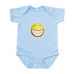 Big Grin Smiley Infant Bodysuit